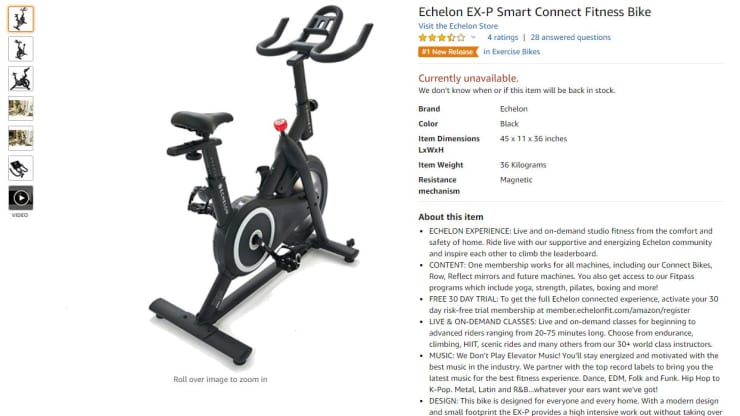 Echelon Bike Reviews