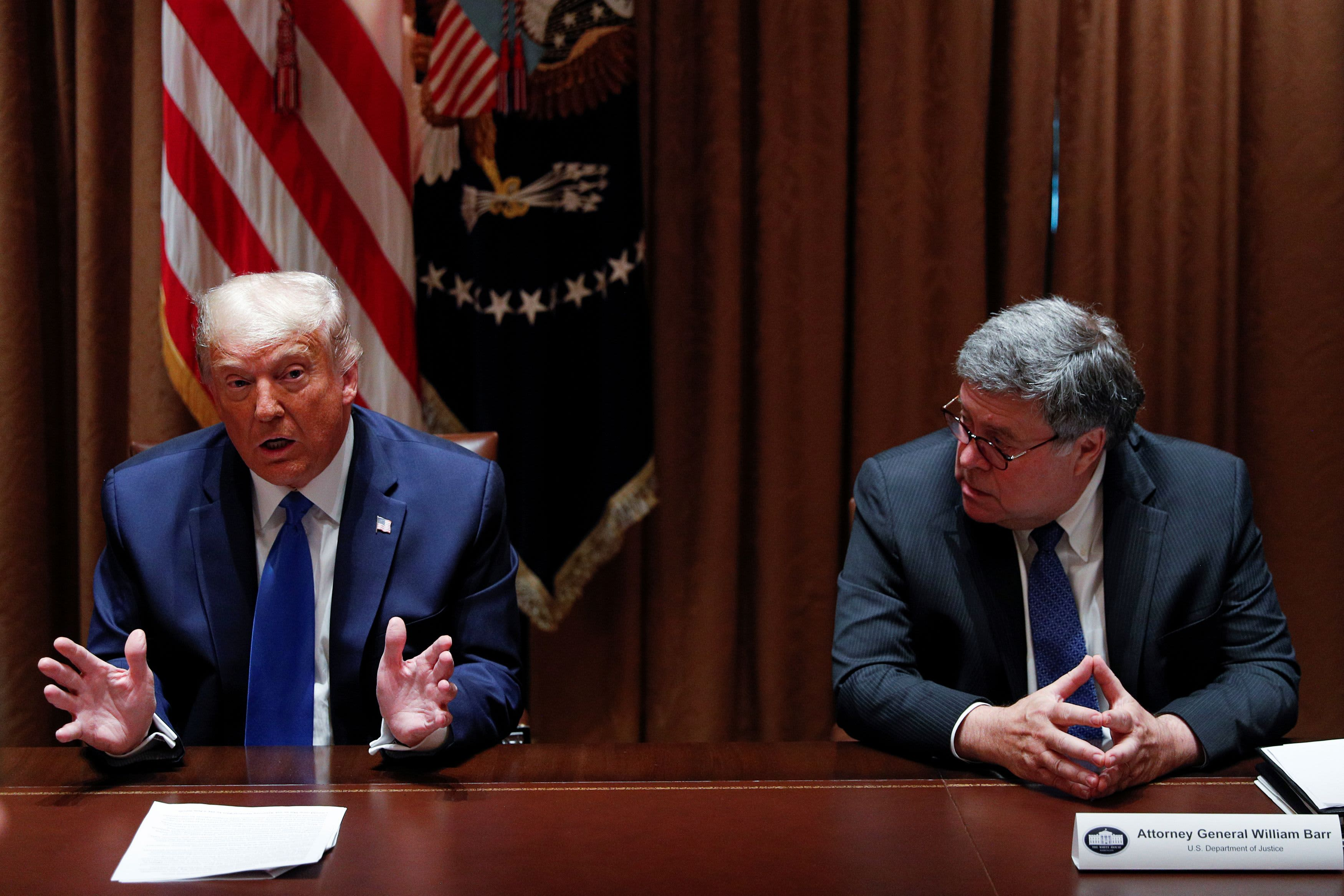 Trump declines to say he will bring back Attorney General Barr if he wins: 'I'm not happy' – CNBC