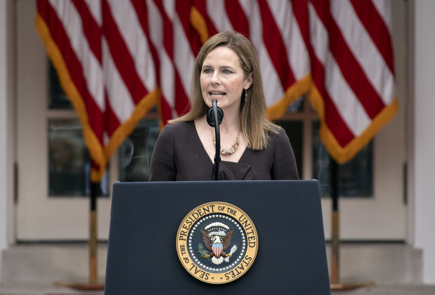 Trump nominates Amy Coney Barrett to Supreme Court, setting up election year confirmation battle