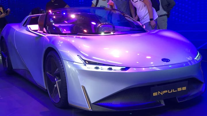 cnbc.com - Evelyn Cheng - Some Chinese automakers show off concept sportscars, amid auto market slump