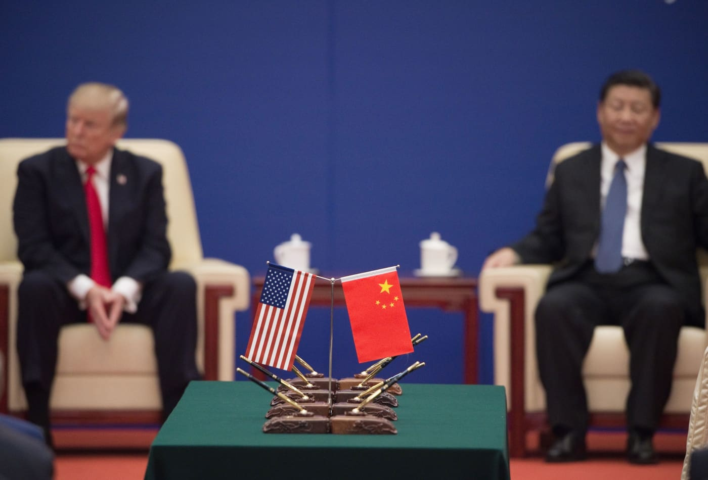 The U.S. and China could slip into a 'new cold war' that pushes countries to pick sides
