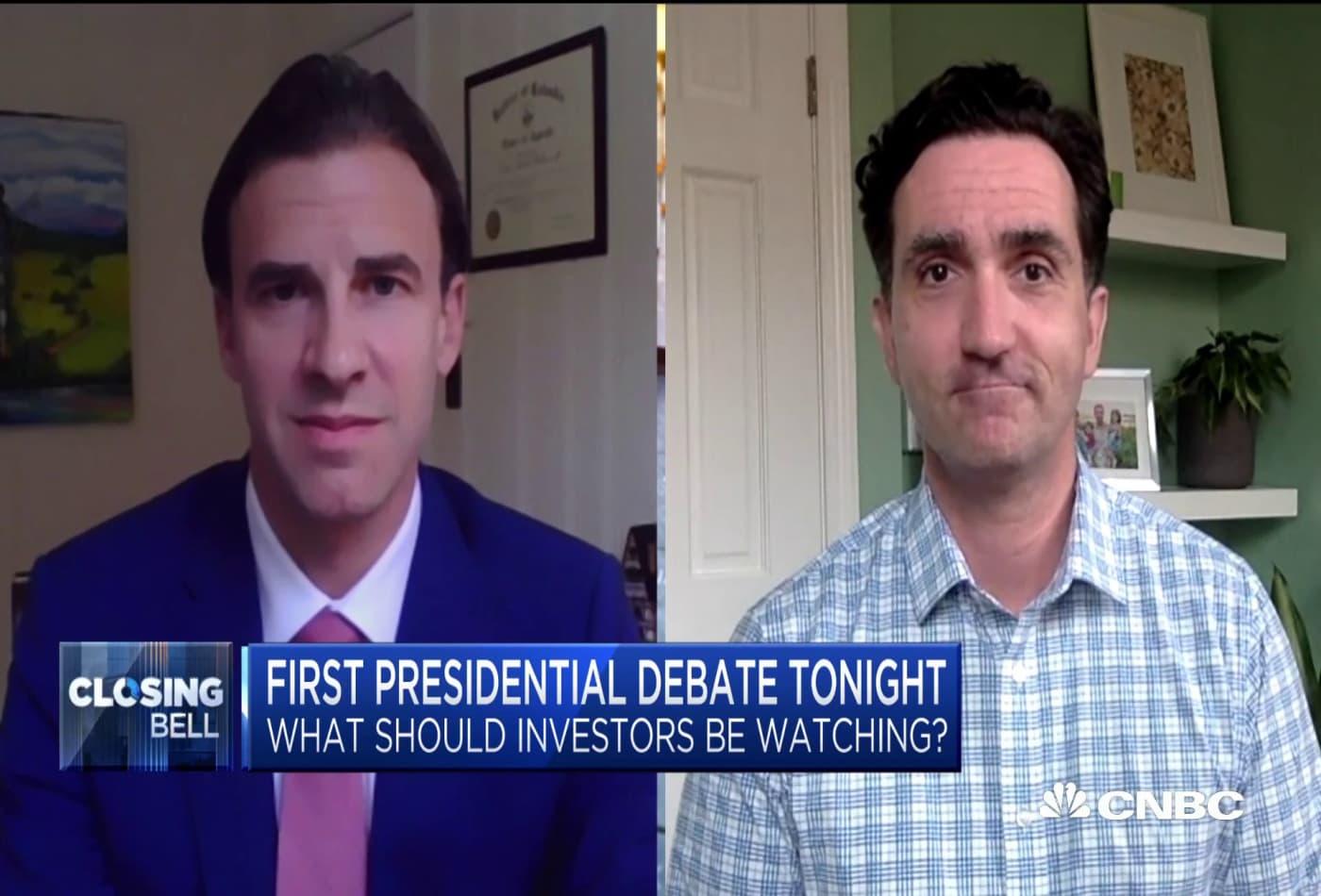 How investors are watching tonight's presidential debate