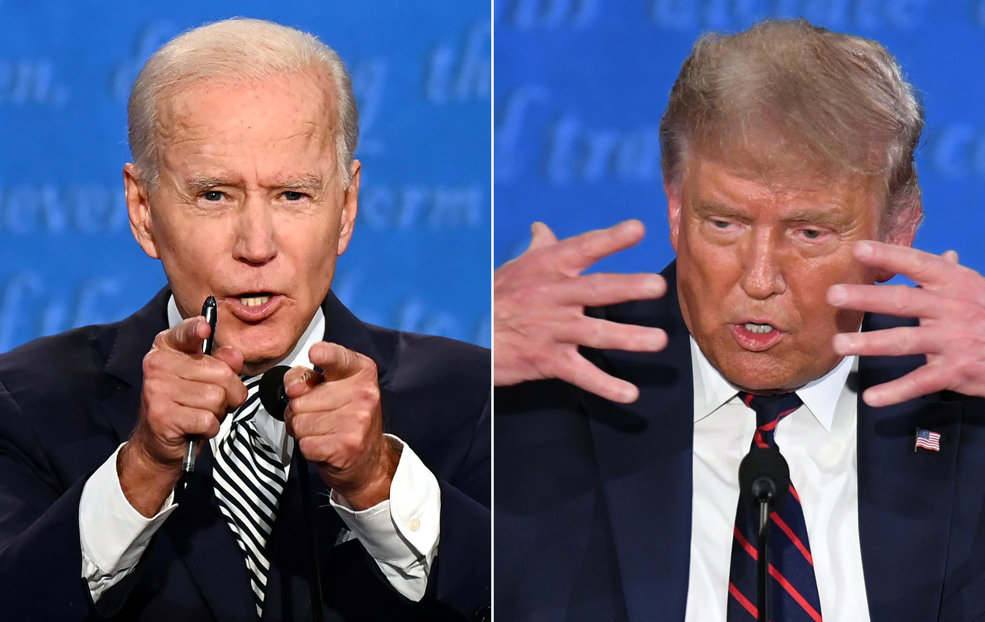 First presidential debate 2020: Trump vs. Biden highlights