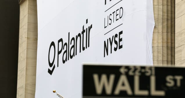 Morgan Stanley downgrade sends Palantir shares sliding