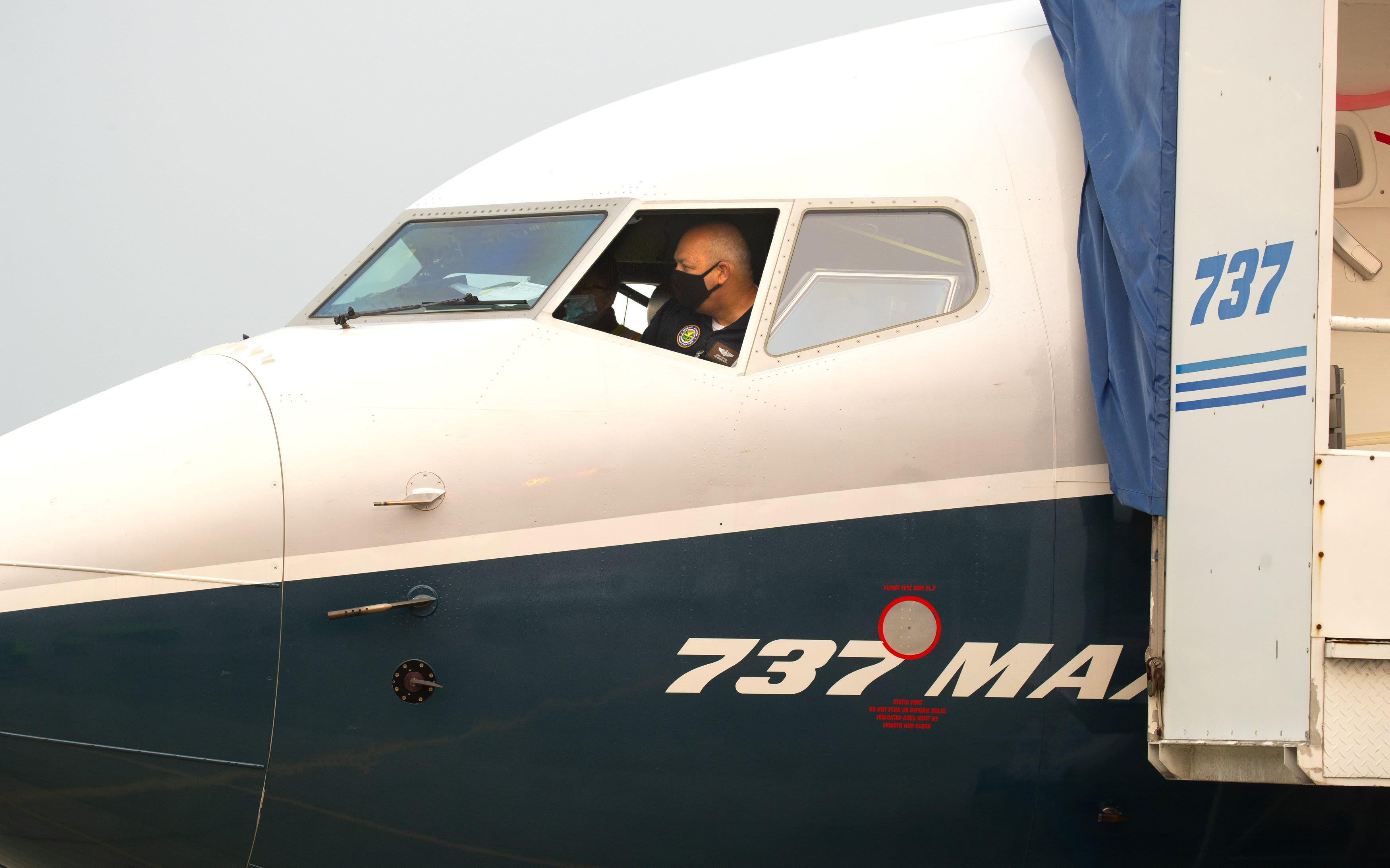 FAA chief upbeat after flying the Boeing 737 Max, reiterates no firm timeline on approvals