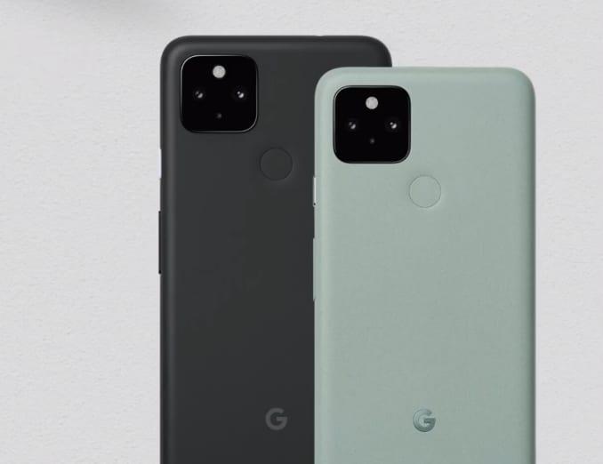 Pixel 5 и Pixel 4a 5G