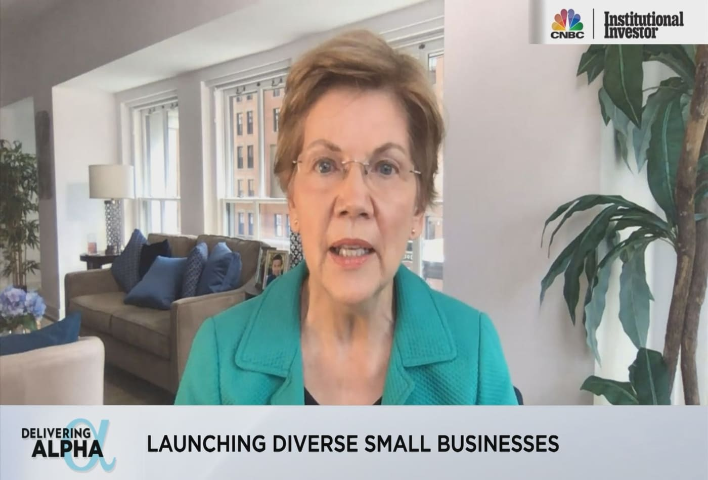 Finding Equilibrium in a Rapidly Changing Liquidity Environment: Sen. Warren at Delivering Alpha