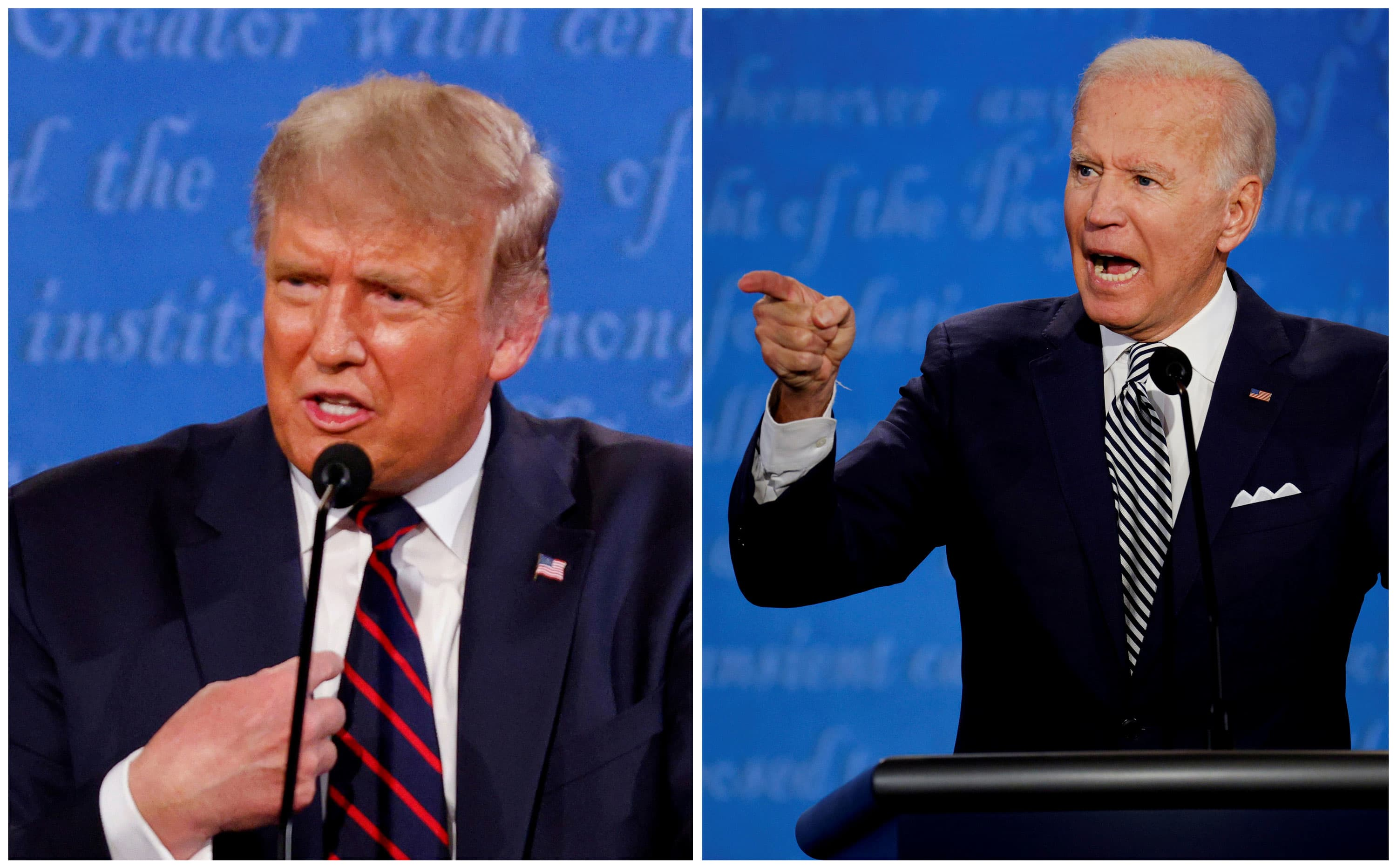 For student loan borrowers, the differences between a Trump and Biden presidency