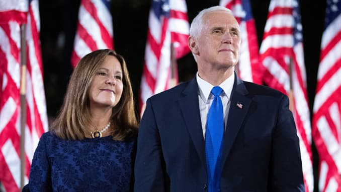 Vice President Mike Pence and second lady test negative for coronavirus following Trump's positive diagnosis