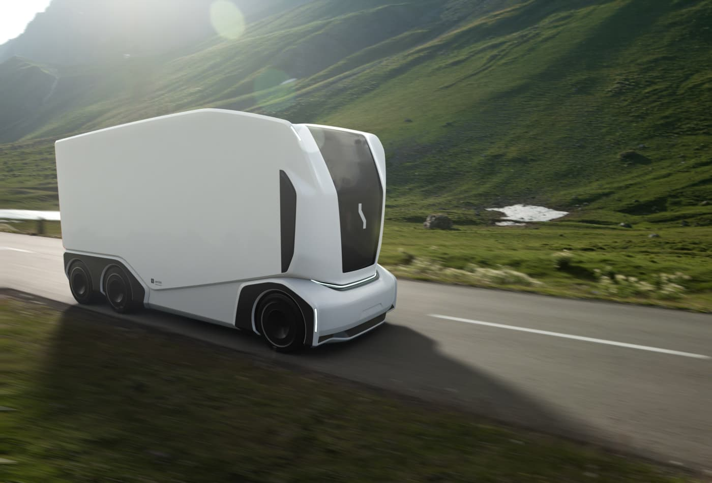 This start-up unveiled its new driverless Pod delivery trucks — take a look