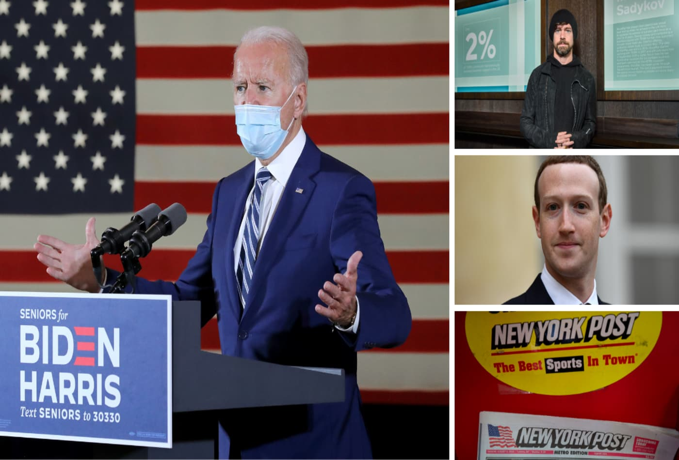 Were Facebook, Twitter right to restrict distribution of the New York Post story about Biden?