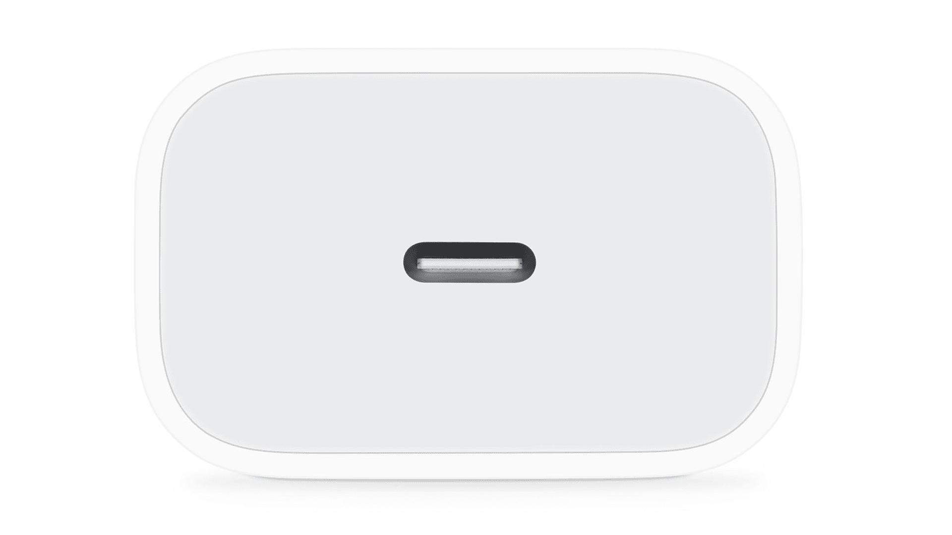 Apple's 20-watt iPhone charger.