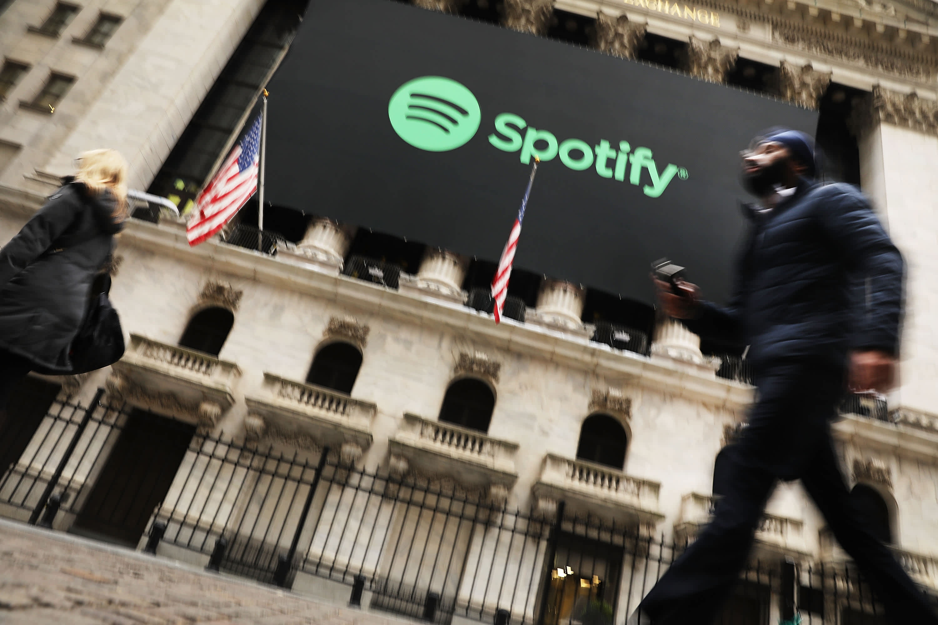 Stocks making the biggest moves midday: Shopify, Spotify, Enphase Energy and more