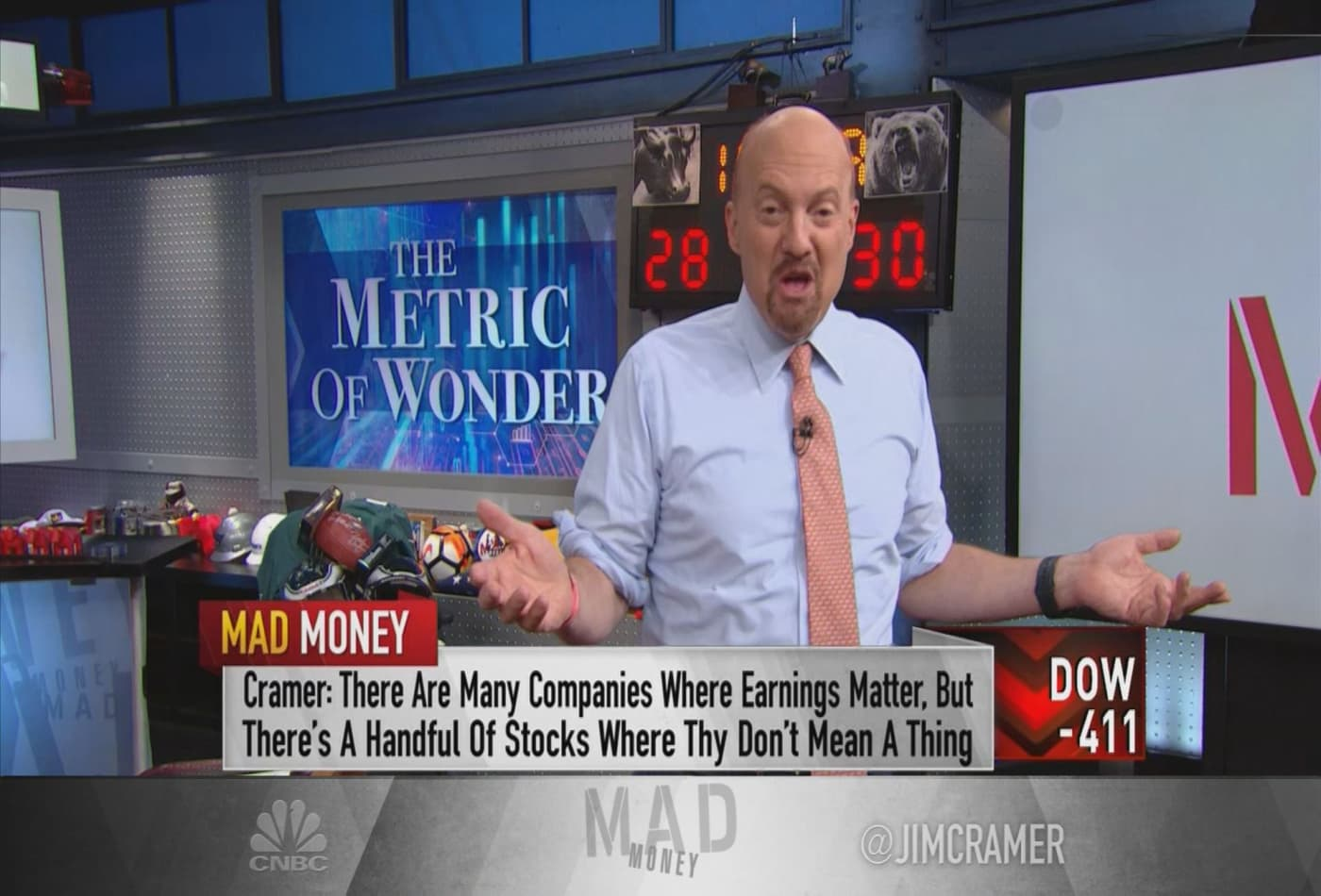 Jim Cramer unveils the 'magnificent 7' stocks investors keep pushing higher during the pandemic
