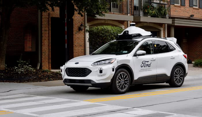 Ford unveils new self-driving test vehicle for 2022 launch – CNBC
