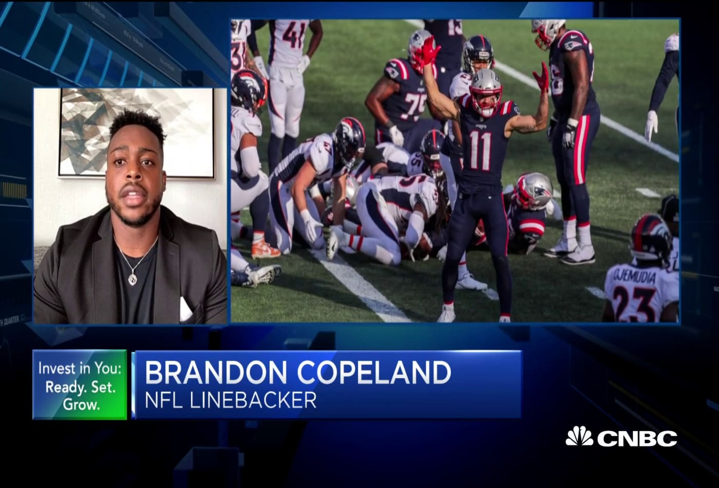 Patriots' Copeland on money management: Pay off debt, find new long-term investments