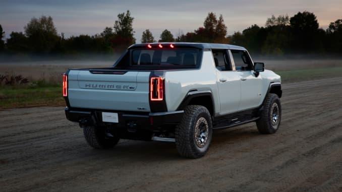 H/O: 2022 GMC Hummer EV sport utility truck