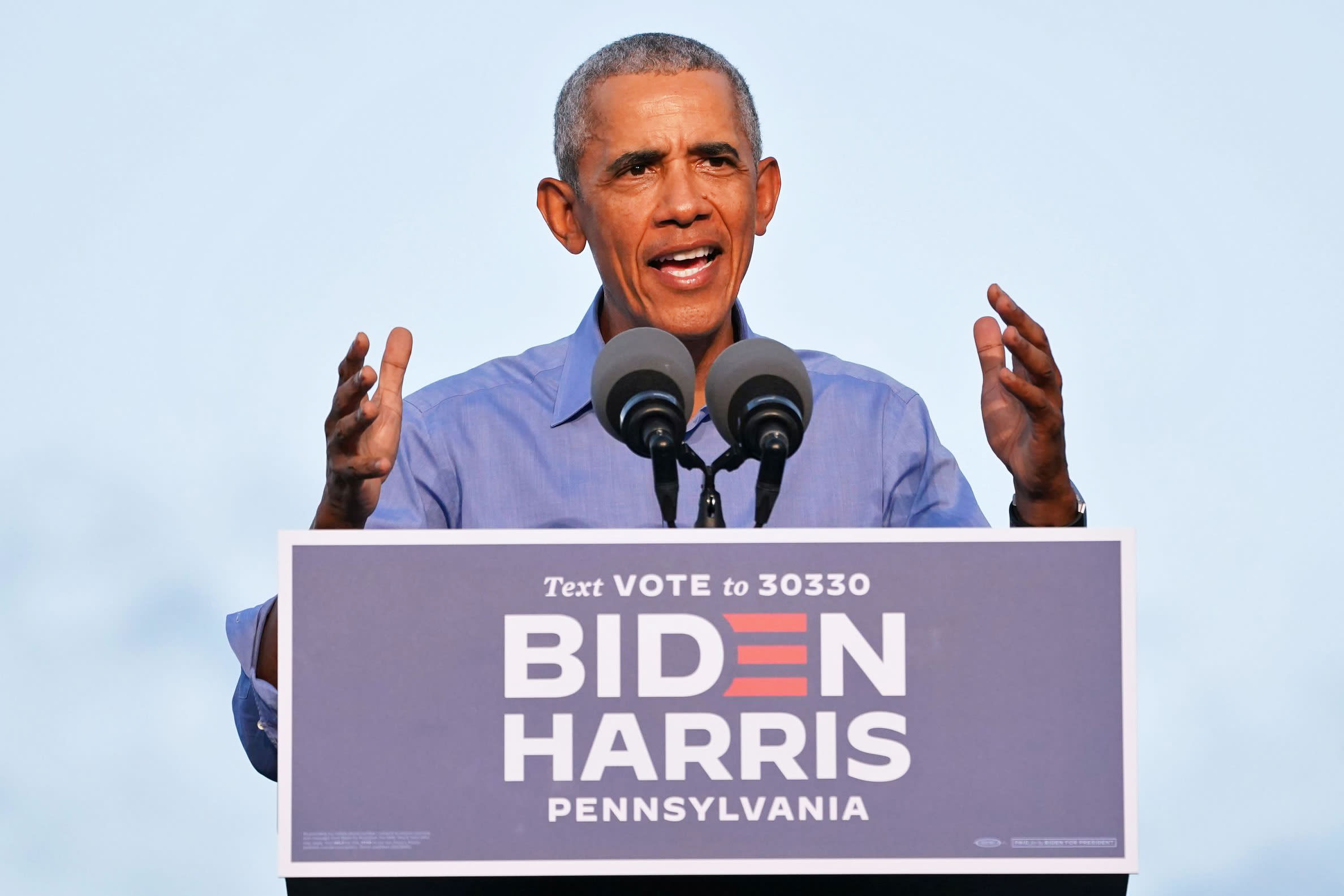 Obama hammers Trump in his first rally for Joe Biden: 'We have to vote like never before'