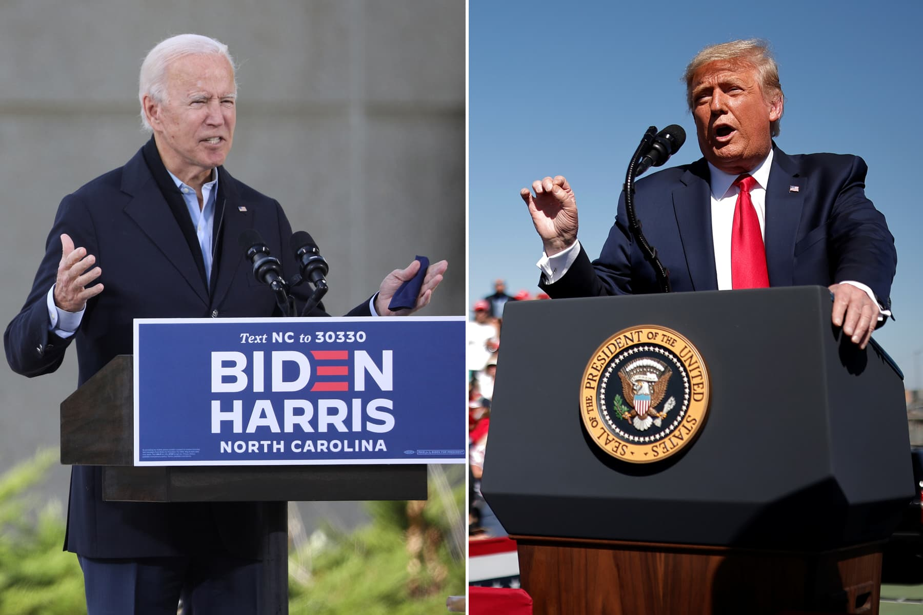 Biden maintains polling lead over Trump with five days until Election Day – CNBC