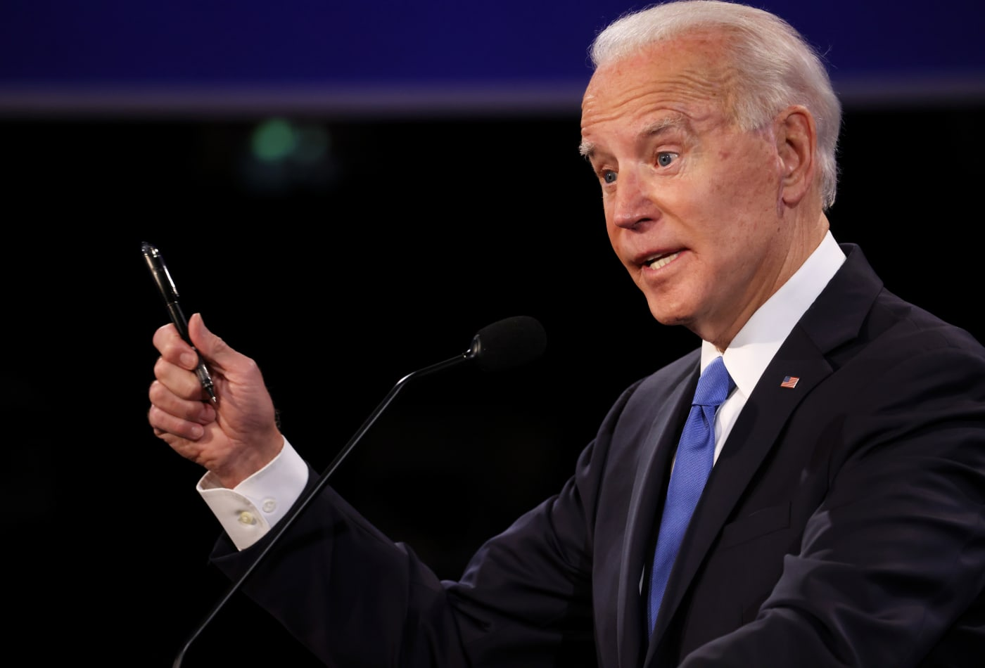 Joe Biden calls climate change the 'number one issue facing humanity'