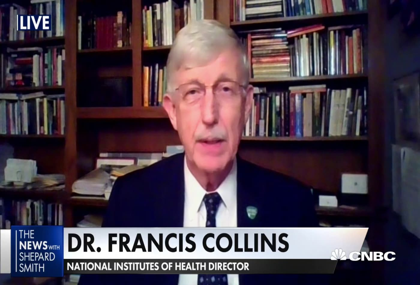 The safety and efficacy for Covid-19 vaccine has never been higher, it looks promising: Dr. Francis Collins