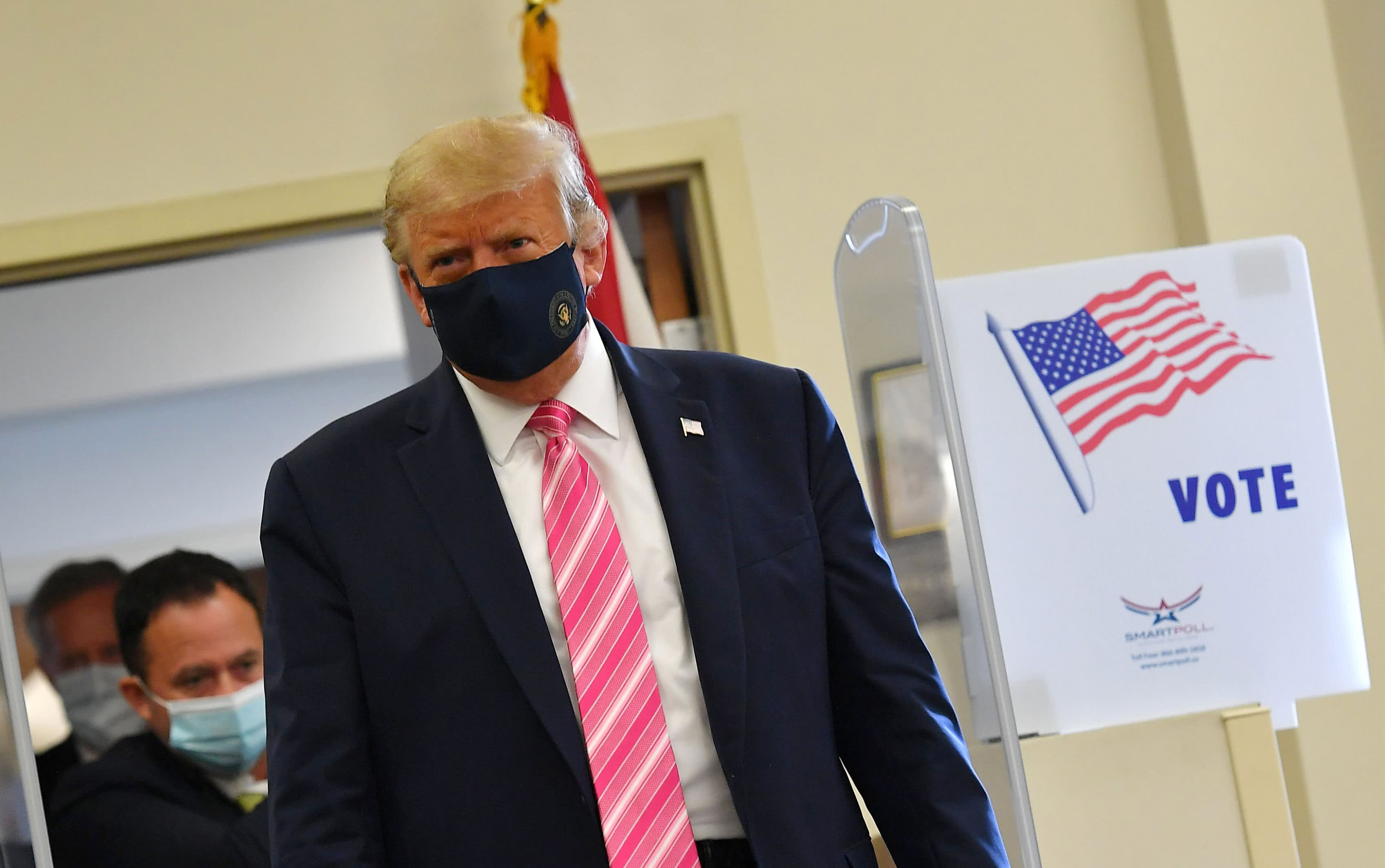Trump votes early in Florida as 2020 campaign enters final days
