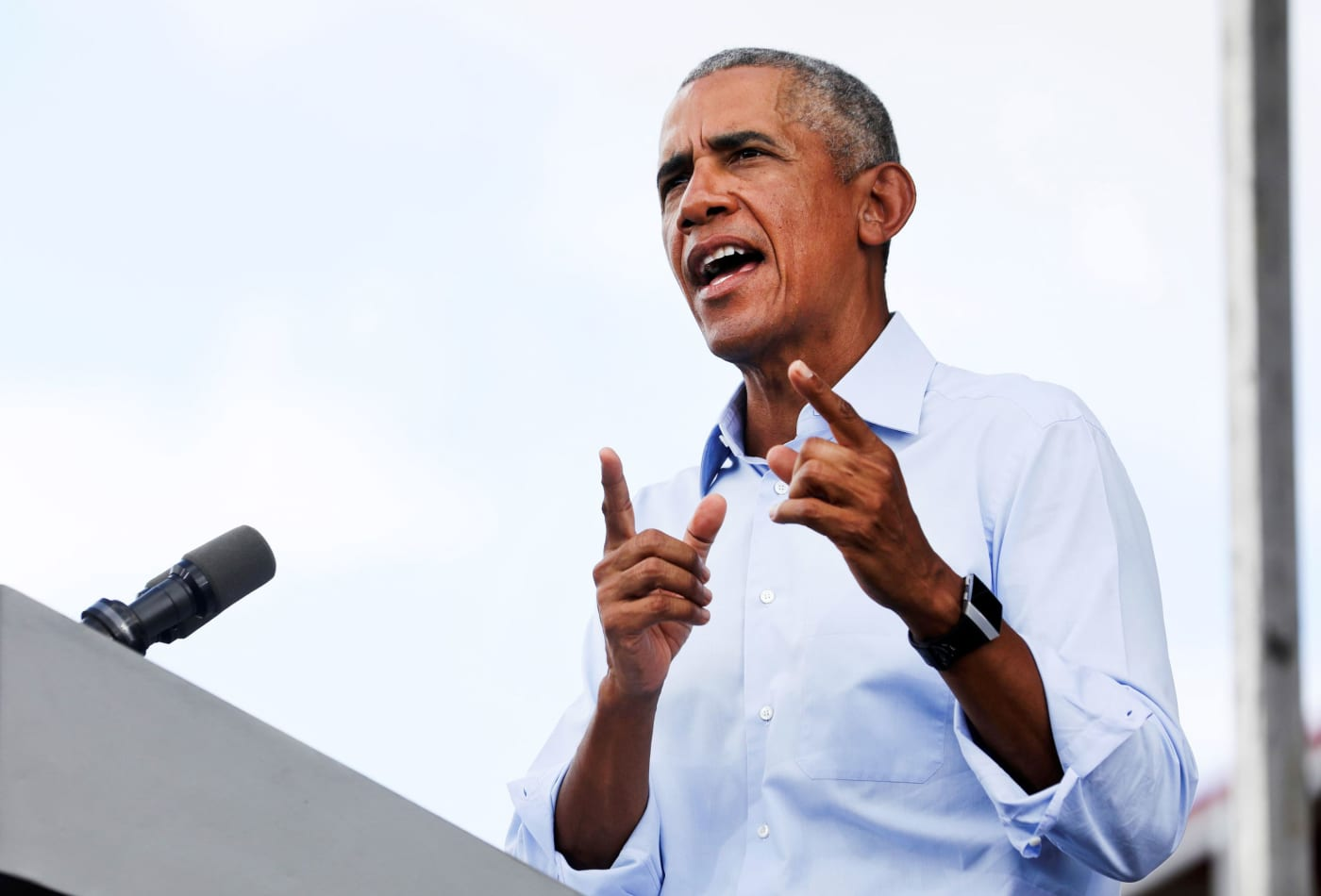 Obama says social media companies 'are making editorial choices, whether they've buried them in algorithms or not'