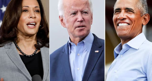Biden, Obama and Harris work in concert to reach crucial voting blocs in the home stretch