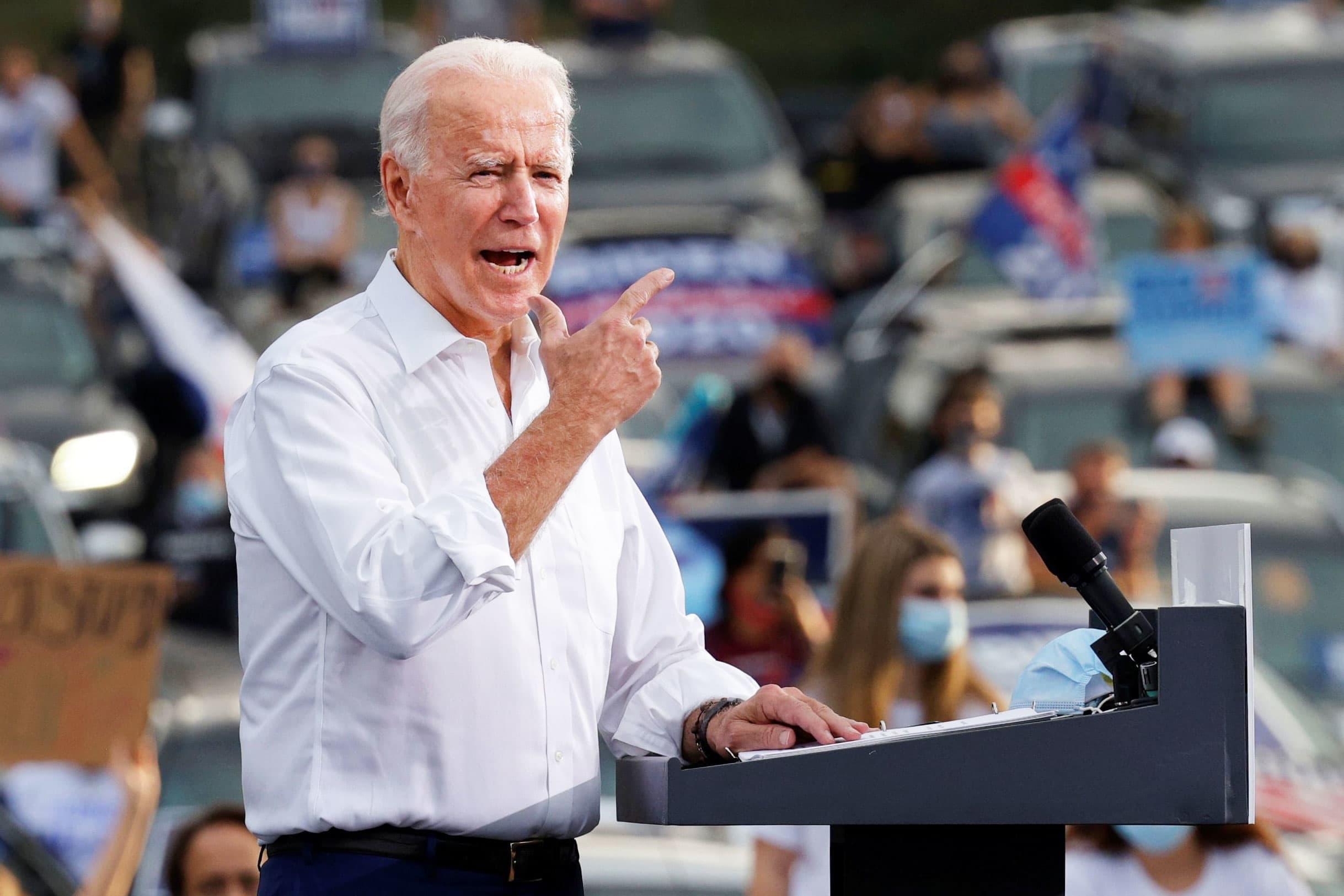 Wall Street spent over $74 million to back Joe Biden's run for president, topping Trump's haul