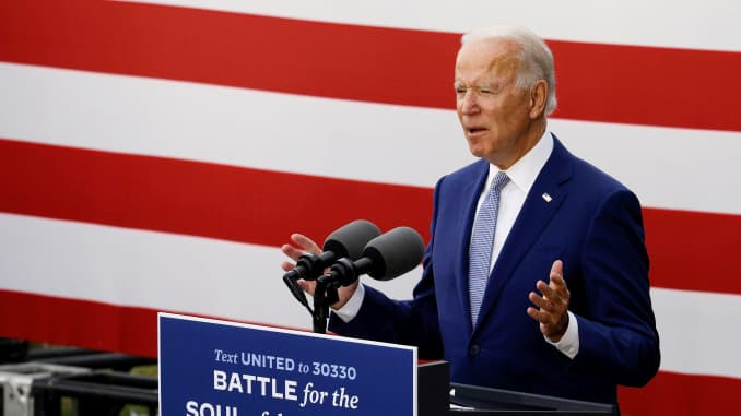Biden S Polling Lead Adds To Market Fears The Economy Will Need To Wait Until Next Year For Stimulus