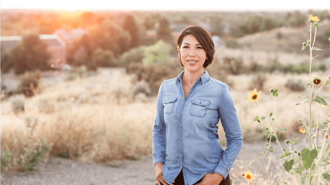 Paulette Jordan, Democratic nominee for Idaho's Senate seat.
