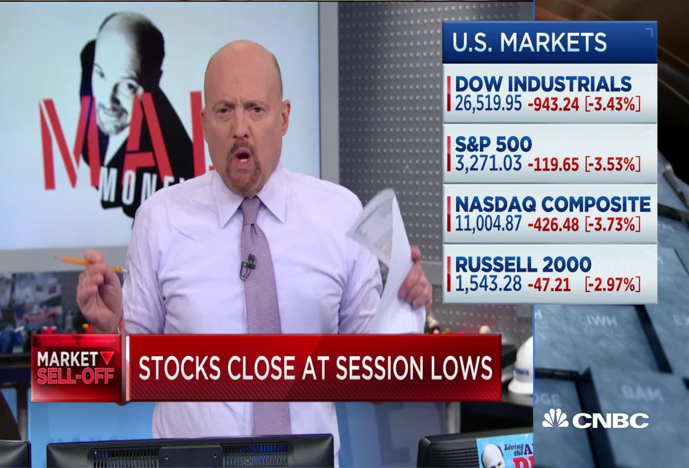 'This is not a secular, systematic decline': Jim Cramer on the sell-off