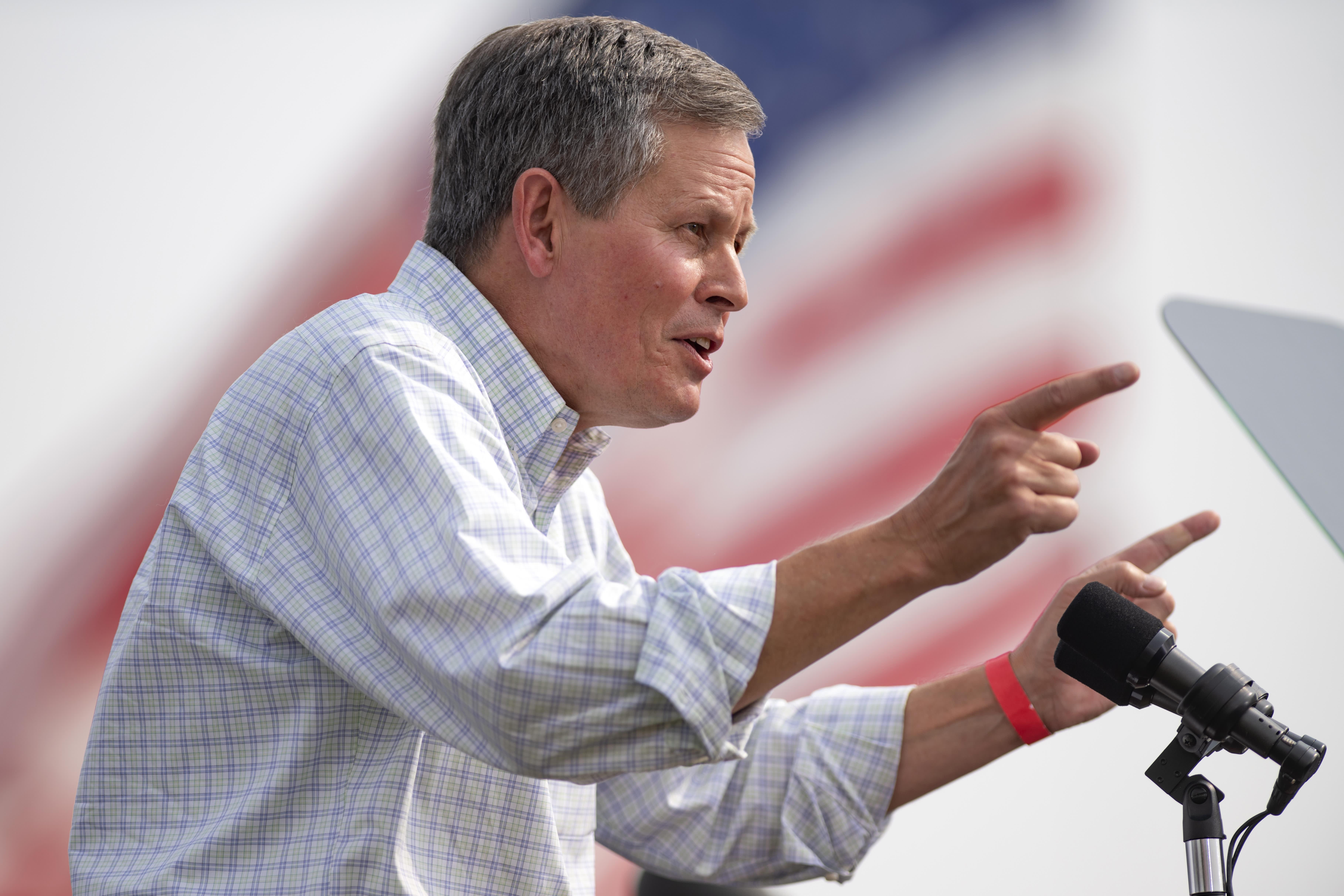 Republican Sen. Steve Daines projected to win Montana Senate race – CNBC
