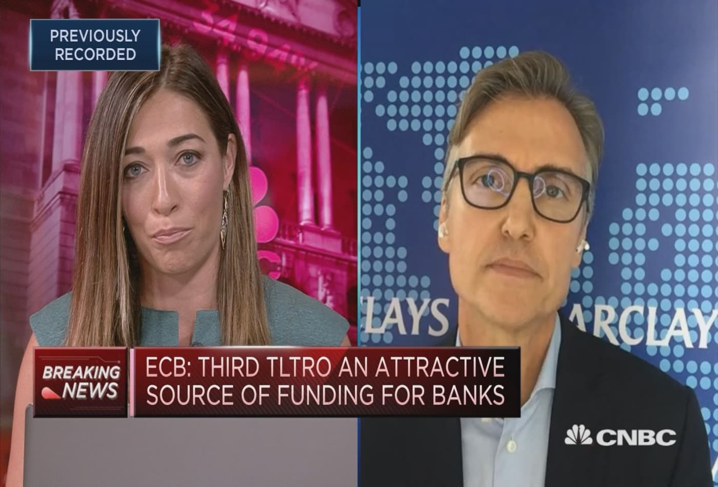 ECB reluctant to push rates deeper into negative territory: Barclays