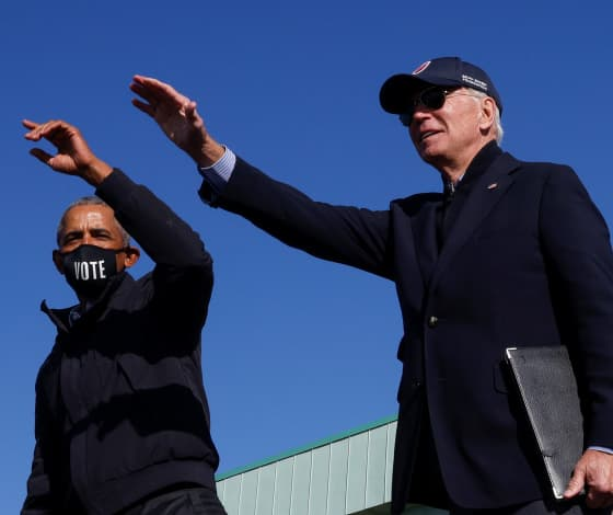 Election 2020 updates: Obama and Biden take the stage in Michigan as Trump campaigns in Pennsylvania