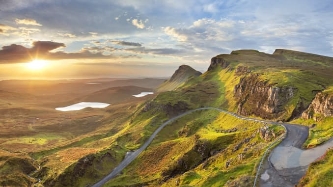The Isle of Skye is one of numerous stunning spots roadtrippers to Scotland can enjoy away from the crowds.