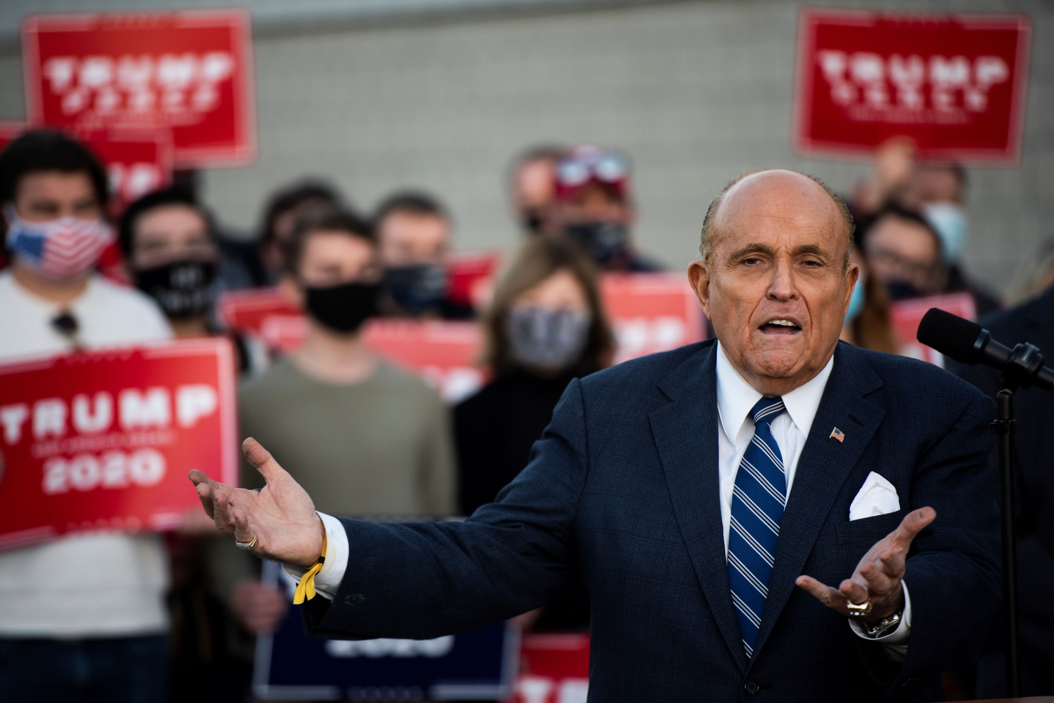 Feds have mentioned making a authorized request for Giuliani's digital communications, say two sources