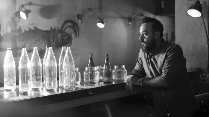 Renato Giovannoni of Buenos Aires' Florería Atlántico won the Altos Bartenders' Bartender award for 2020.