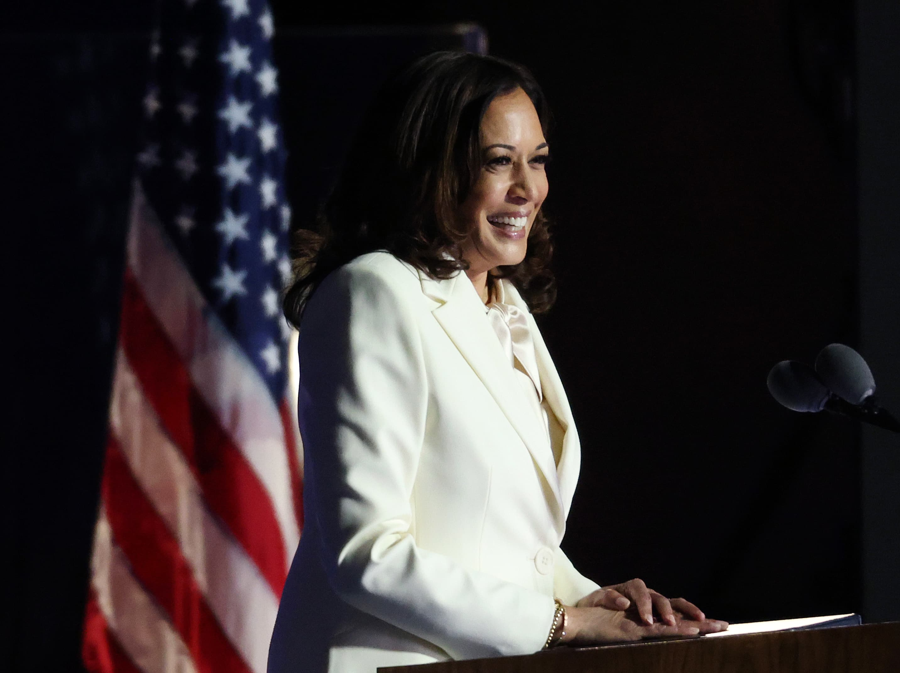 Kamala Harris Makes History As First Woman Elected Vice President