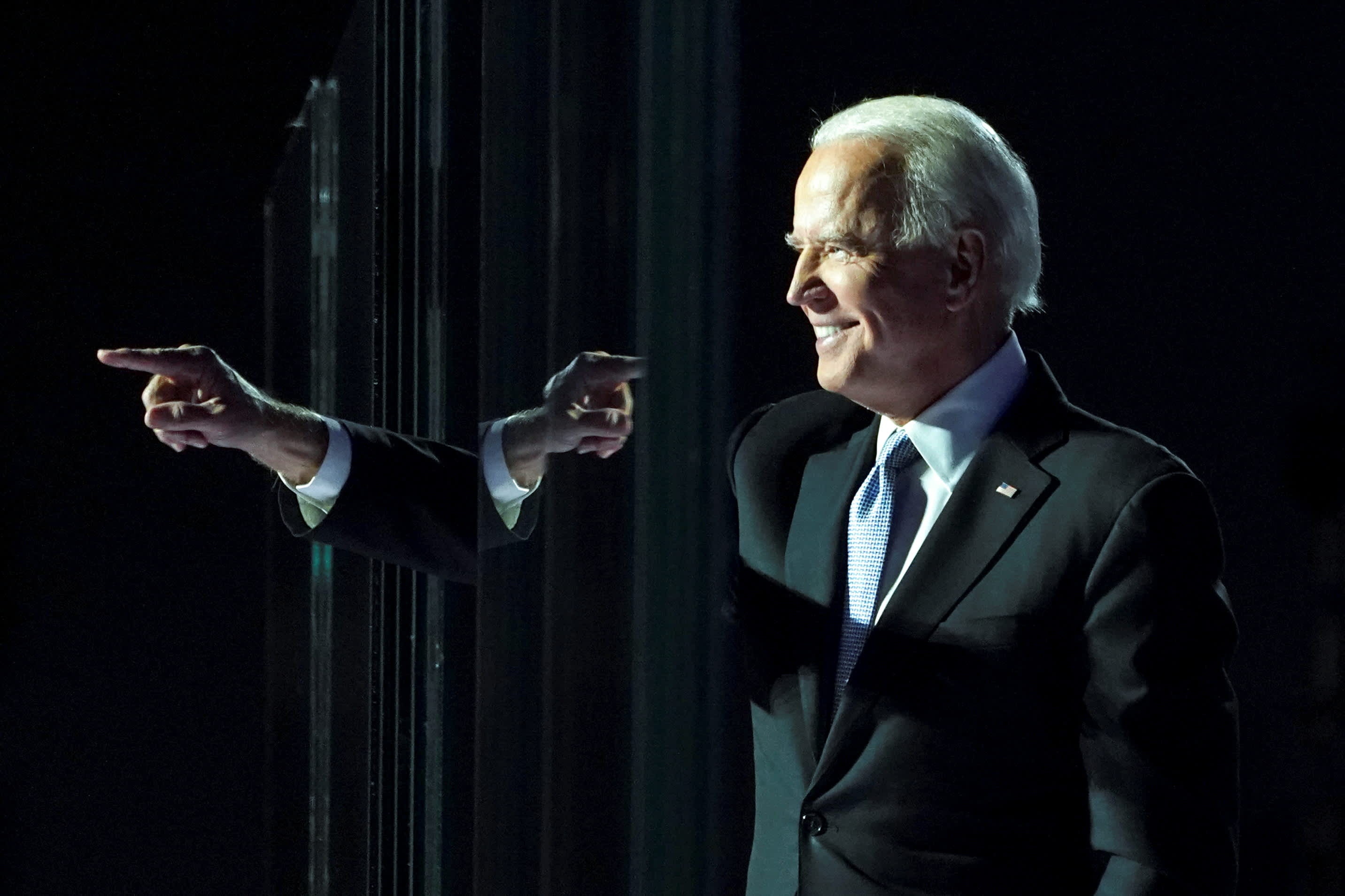 Dow futures rise 350 points after Biden wins presidency as post-election rally continues thumbnail