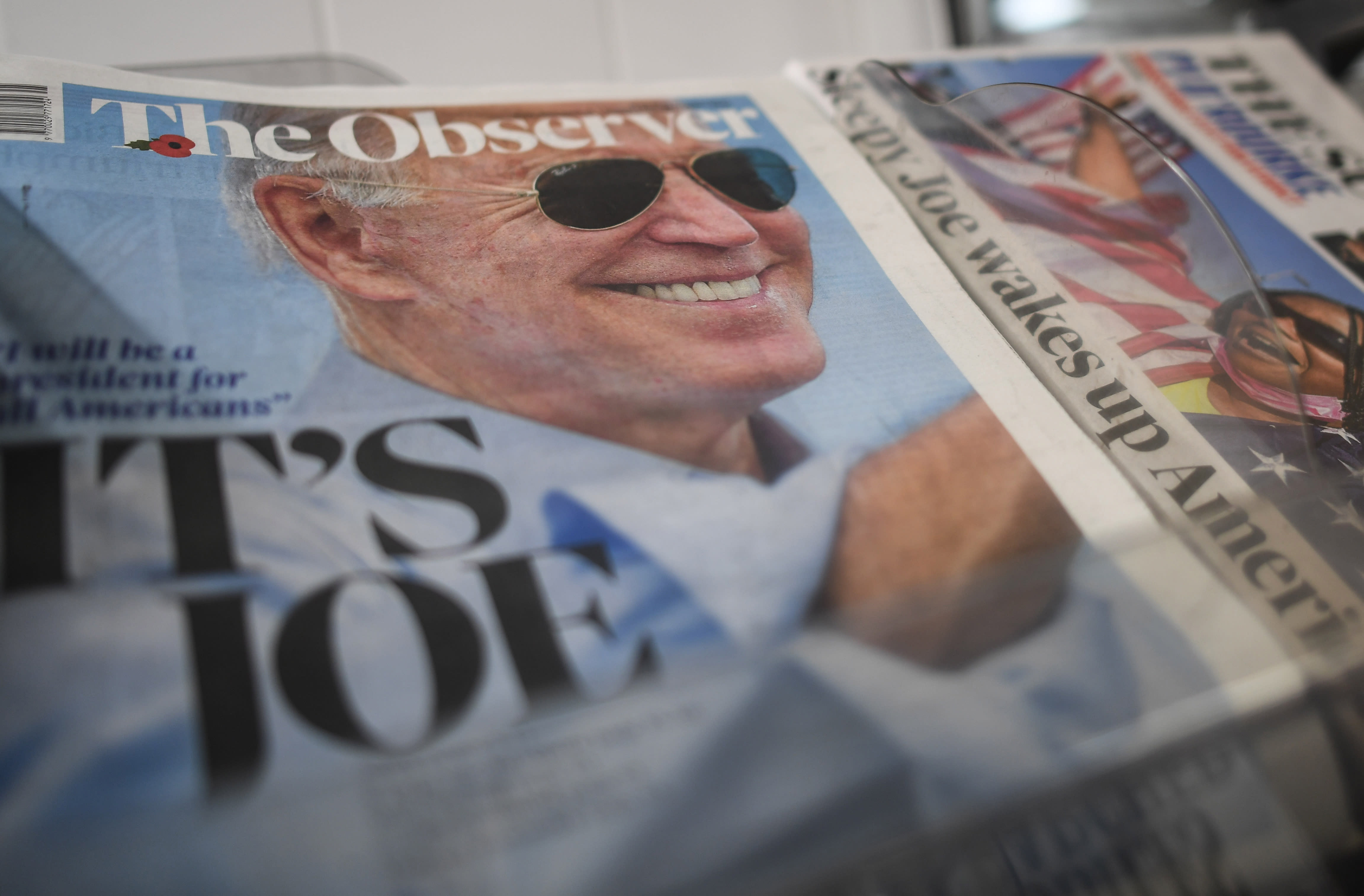 'It's Joe!' How newspapers worldwide reported President-elect Biden's triumph thumbnail