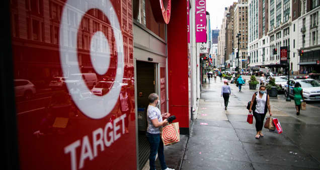 Target earnings top estimates as sales jump 21%, boosted by strong holiday season, stimulus checks