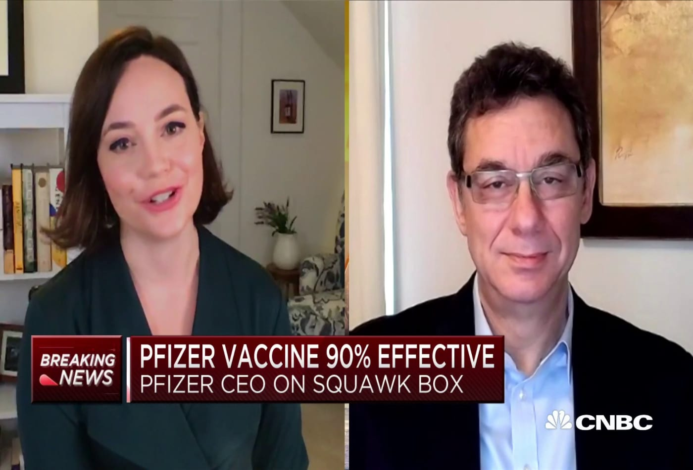 Pfizer CEO on Covid vaccine efficacy: 'It is a great day for humanity'