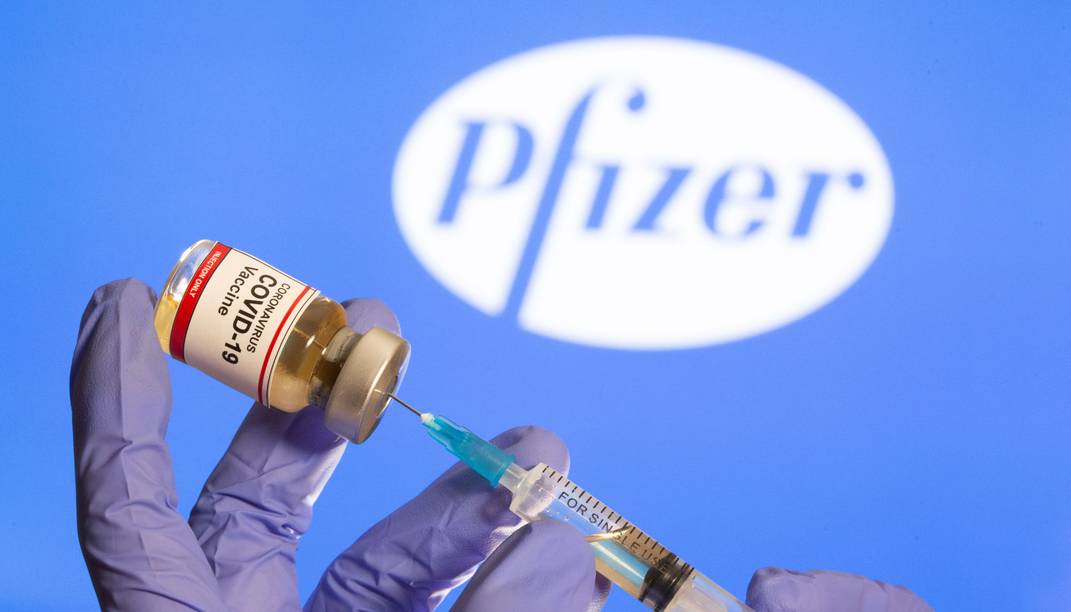Pfizer reports .5 billion in quarterly sales from Covid vaccine, raises outlook