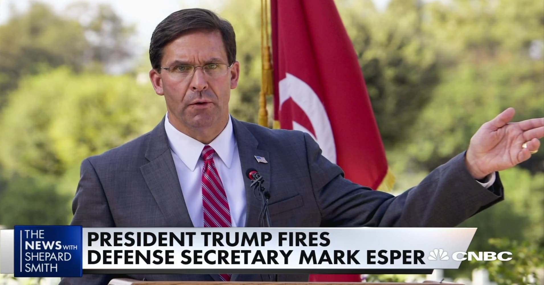 Trump loyalists promoted to powerful Pentagon roles after Esper firing