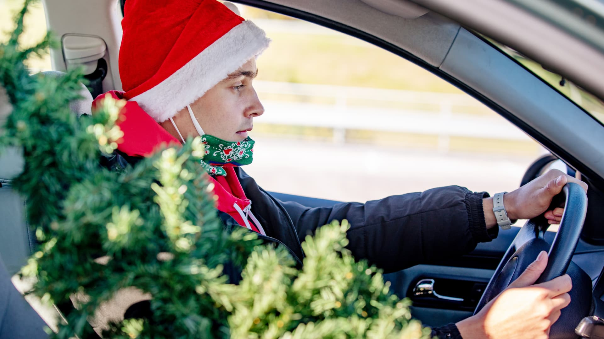 While flying is considered fairly safe, driving is recommended this holiday season.