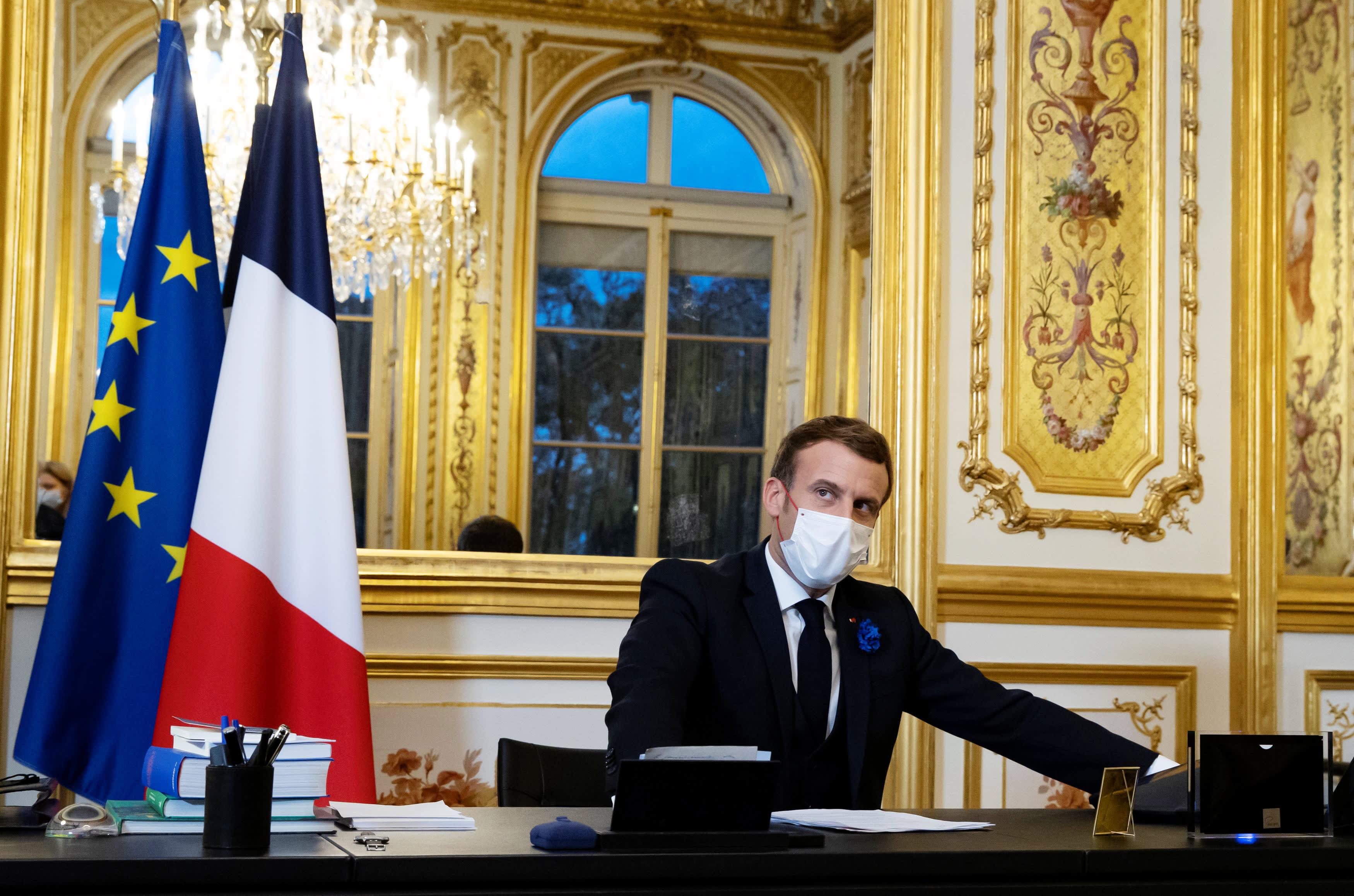 Pelampung Macron Prancis mengejar penyelesaian Airbus-Boeing dalam panggilan dengan Biden thumbnail