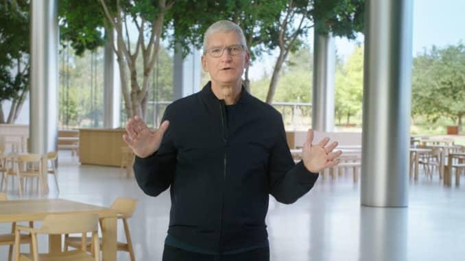 Tim Cook di Acara Apple