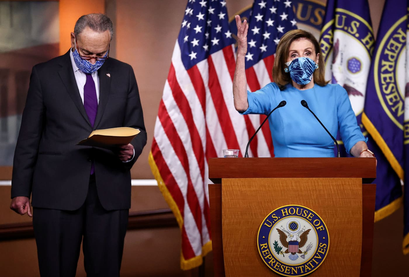 Pelosi and Schumer call for Trump's immediate removal from office for 'insurrection'