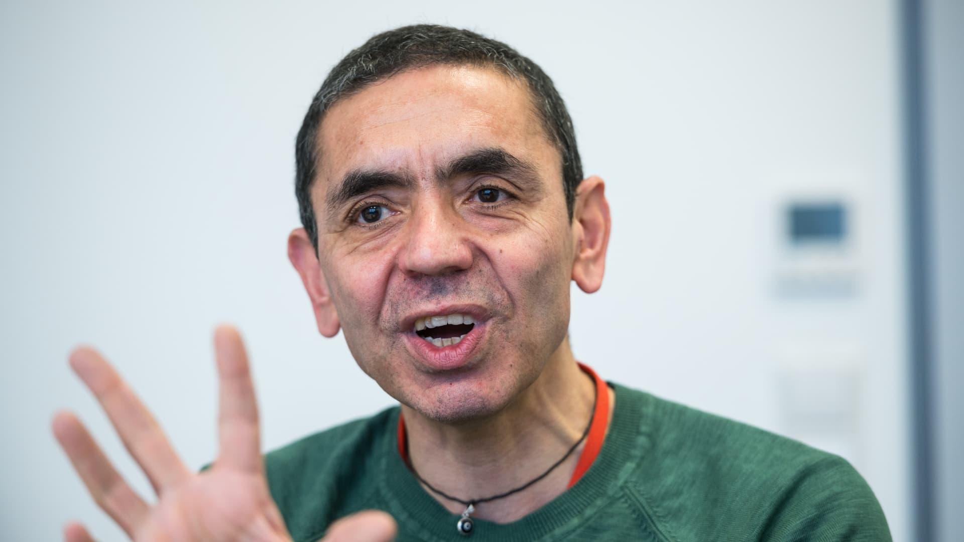 Ugur Sahin, CEO of BioNTech.